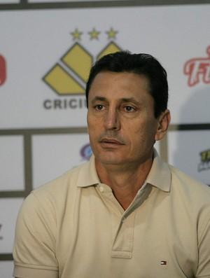 Paulo Comelli, técnico do Criciúma (Foto: Fernando Ribeiro, Divulgação / Criciúma)