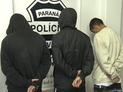 suspeitos tentativas de homicídio coritiba atlético-pr atletiba (Foto: Reprodução/RPC)
