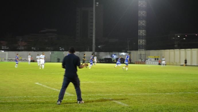 Elias Santana no jogo contra Luziânia-DF pela Copa Verde (Foto: Lívia Costa)