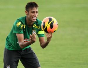 Neymar treino seleção (Foto: Wander Roberto / Vipcomm)