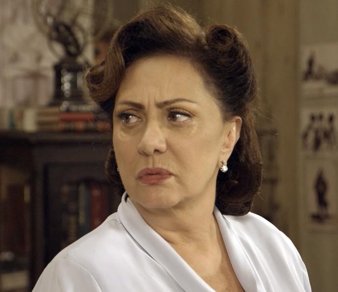 Anastácia descobre plano de Sandra (Foto: TV Globo)