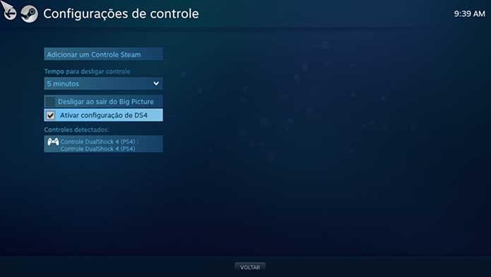 Ative a opção no Steam (Foto: Reprodução/Murilo Molina)