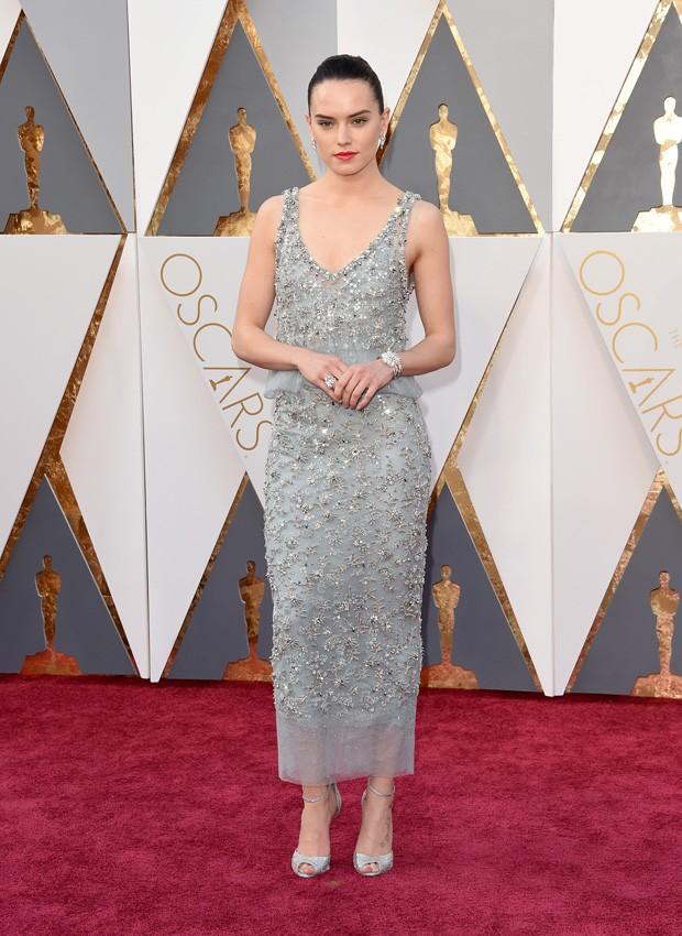 Oscar 2016 - Daisy Ridley (Foto: GNT)