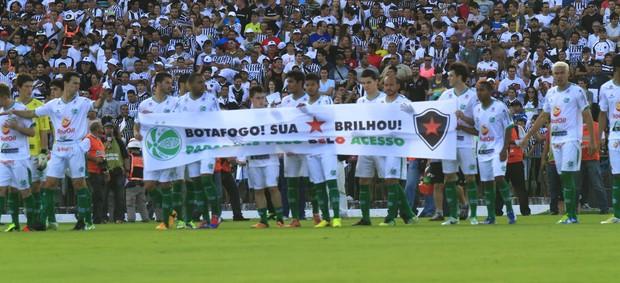 Botafogo-PB 2 x 0 Juventude, final da Série D do Campeonato Brasileiro, no Estádio Almeidão (Foto: Kleide Teixeira / Jornal da Paraíba)