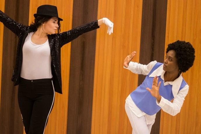 Jaque Santtos 'encarnou' Michael Jackson dos anos 80 (Foto: Arquivo Pessoal)