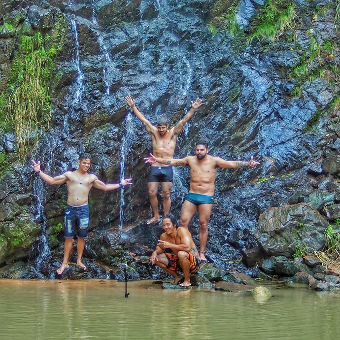 Cachoeira do pinga, no Rio Grande do Norte (Foto: Divulgação Rota Inter TV)