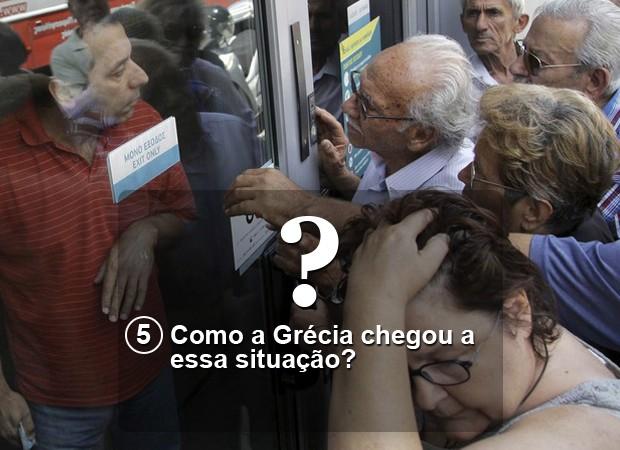 Como a Grécia chegou a essa situação? (Foto: Stefanos Rapanis/Reuters)