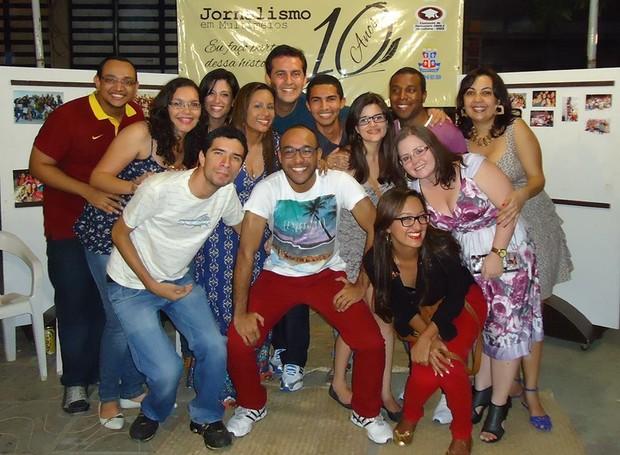 Juliane Peixinho é formada pela Universidade do Estado da Bahia  (Foto: Arquivo Pessoal)