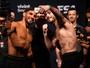 Jason faz selfie com rival na pesagem do UFC: Rodriguez x Caceres