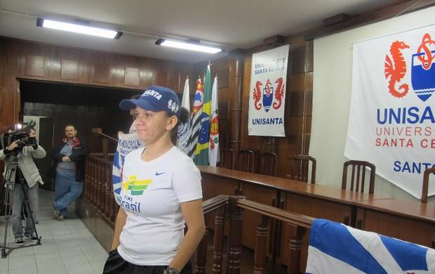 Mesatenista Lígia Silva (Foto: Fúlvio Feola / Globoesporte.com)