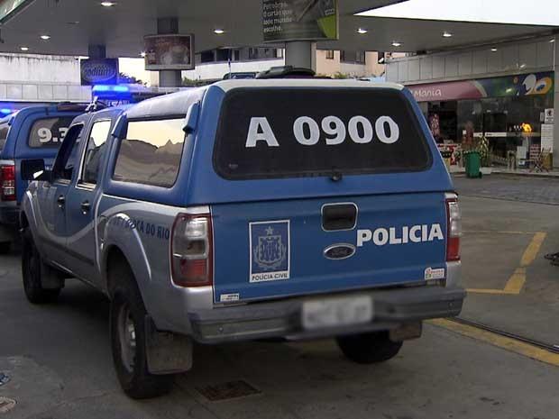 Ação ocorreu em posto instalado na Avenida Tancredo Neves, em Salvador (Foto: Imagem/TV Bahia)