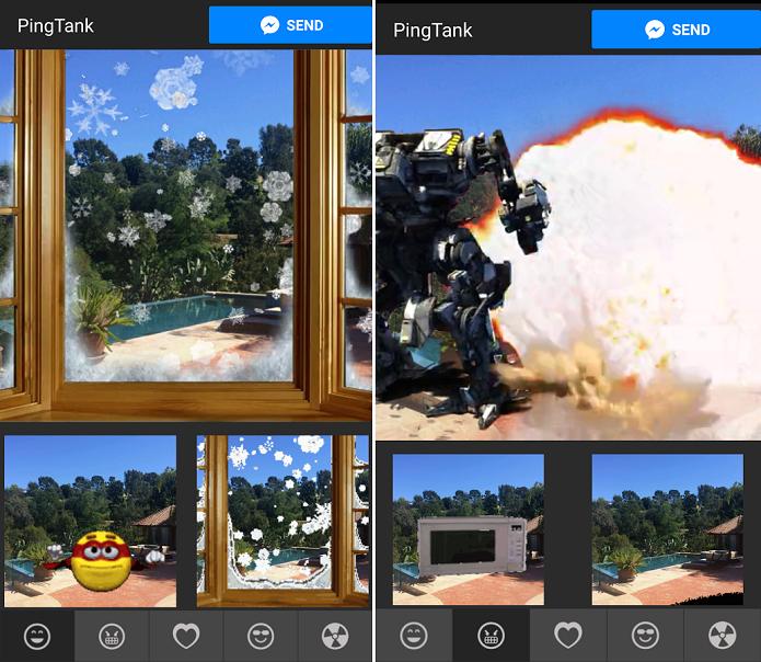 Adicione efeitos em 2D ou 3D às fotos com este app (Foto: Divulgação)