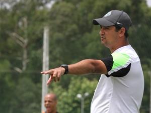 Marquinhos Santos treino Coritiba (Foto: Divulgação Coritiba)