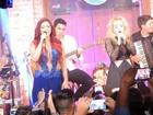 'É o primeiro passo da carreira solo', diz Joelma durante show em Olinda