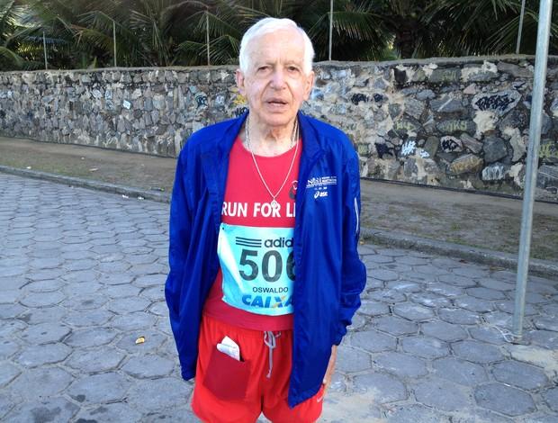 Meia Maratona Internacional do Rio de Janeiro 2012 - Oswaldo Silveira (Foto: Luiz Cláudio Amaral / Globoesporte.com)