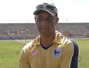 Ionay da Luz, ex-técnico do Misto (Foto: Reprodução/TV Morena)