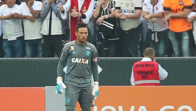 Diego Alves Corinthians x Flamengo (Foto: Gilvan de Souza/Flamengo)