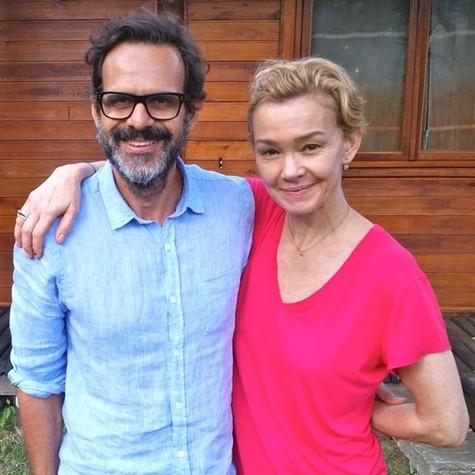 Alberto Renault e Julia Lemmertz  (Foto: Daniel Neves)