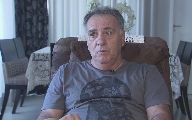 Dicá Santos Ponte Preta (Foto: Reprodução / TV Tribuna)