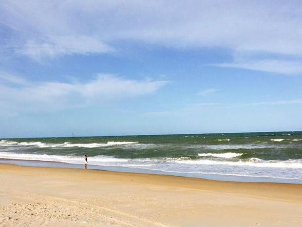 Praia de Pontal do Ipiranga (Foto: Divulgação/ Prefetura de Linhares)