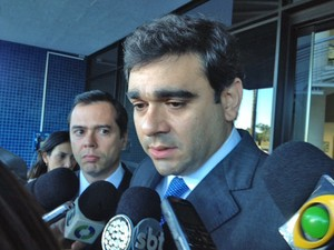 O advogado Renato de Moraes, defensor do ex-diretor da Petrobras Renato Duque (Foto: Filipe Matoso / G1)
