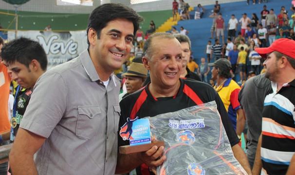 George Guilherme particpou do evento esportivo em Petrolina (Foto: Emerson Rocha)