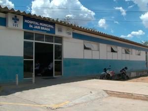 Hospital Municipal Doutor Jair Braga (Foto: Reprodução/TV Bahia)