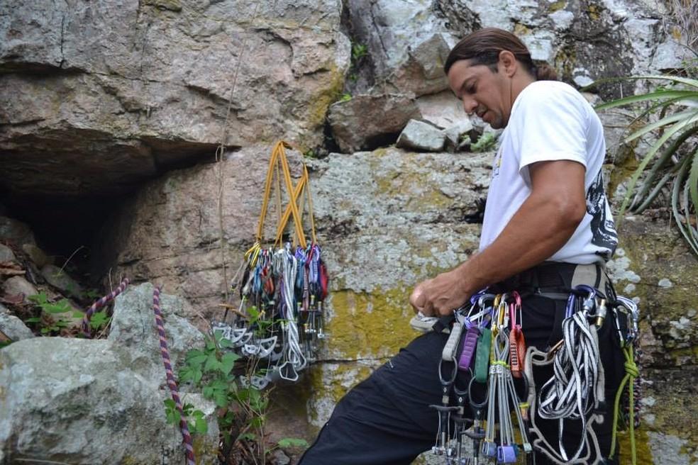 Colegas informaram à polícia que Wolgrand era um escalador experiente. (Foto: Reprodução / Arquivo pessoal)
