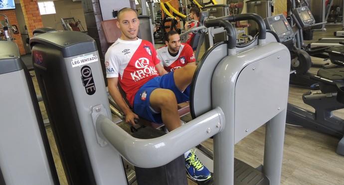 Danilo Baron Joinville Futsal ala (Foto: João Lucas Cardoso)