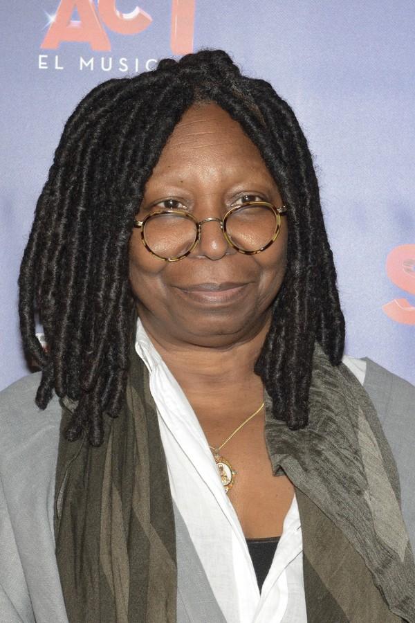 Whoopi Goldberg (59) - A Cor Púrpura (1985); Ghost - Do Outro Lado da Vida (1990); Mudança de Hábito (1992) (Foto: Getty Images)