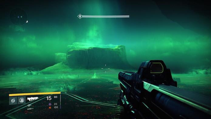 Halo 5 roda melhor, mas Destiny tem ambientes mais caprichados (Foto: Reprodução/Victor Teixeira)