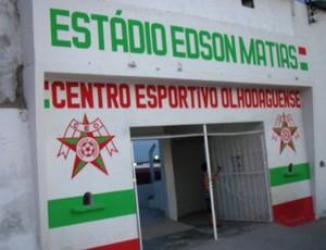 Estádio Edson Matias terá refletores (Foto: Jânio Barbosa/7Segundos)