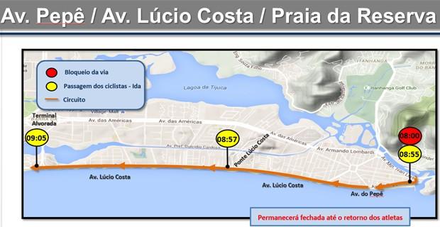 Mudanças na Barra (Foto: Reprodução / CET-Rio)