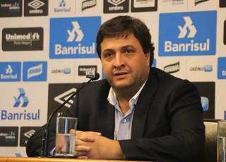 Alberto Guerra assume como novo vice de futebol do Grêmio (Foto: Eduardo Moura)