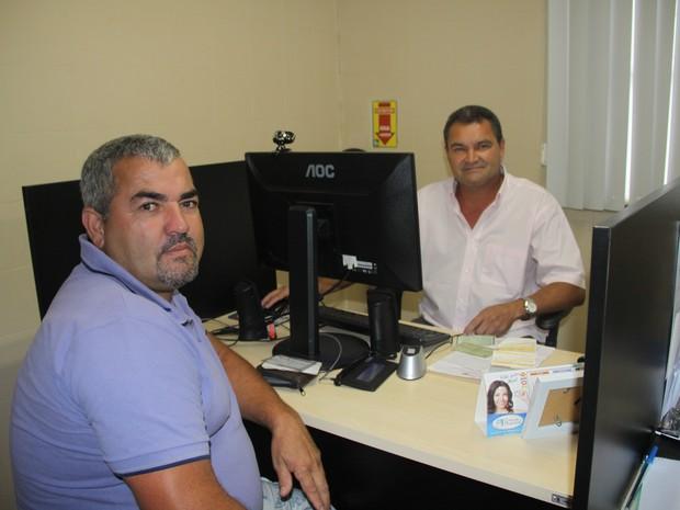 Paulo Henrique é o primeiro morador de Casimiro a ter carteira de trabalho informatizada (Foto: Divulgação Casimiro de Abreu)