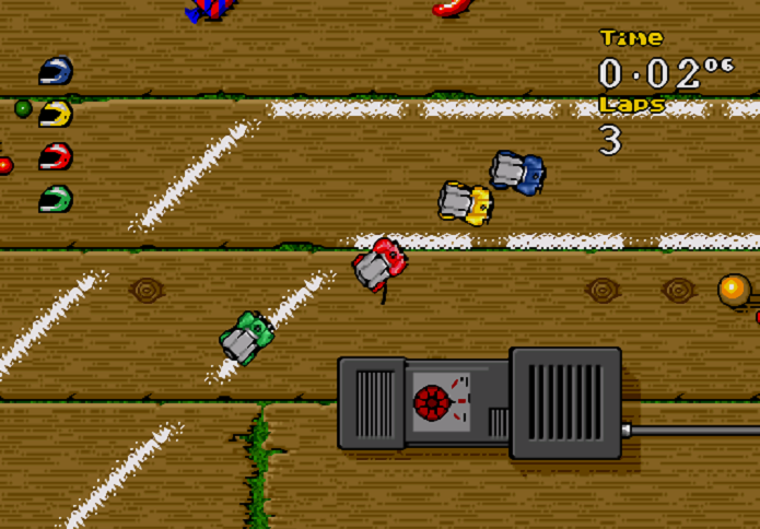 Melhores jogos de corridas do SNES: Micro Machines 2: Turbo Tournament (Foto: Reprodução/gamefabrique.com)