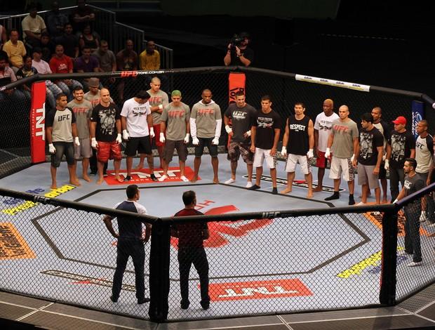 Rodrigo Minotauro Fabricio Werdum TUF Brasil 2 UFC octógono (Foto: Getty Images)