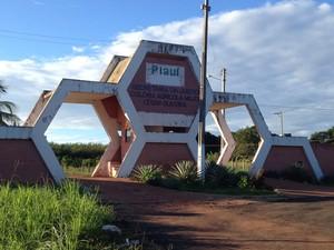 Rebelião na Penitenciária Major César em Teresina (Foto: Patrícia Andrade/G1)