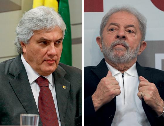 Ex-presidente Luiz Inácio Lula da Silva e o pecuarista José Carlos Bumlai. (Foto: Pedro Ladeira/Folhapress e Sérgio Lima/AFP)