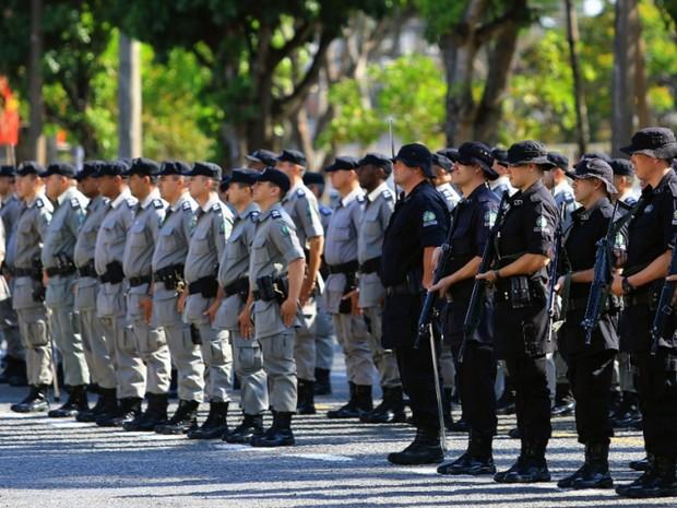 Polícia Militar deve preencher mais de 2,4 mil vagas em Goiás (Foto: Divulgação/SSPAP)