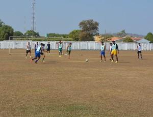 Treino do Real Desportivo, Sub-20 (Foto: Jeferson Guedes)