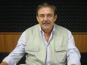 Haroldo Sabóia foi o segundo candidato a ser entrevistado pela ordem do sorteio (Foto: Zeca Soares/G1)