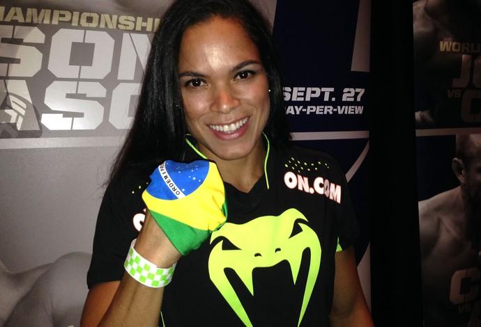 Amanda Nunes, UFC (Foto: Evelyn Rodrigues)