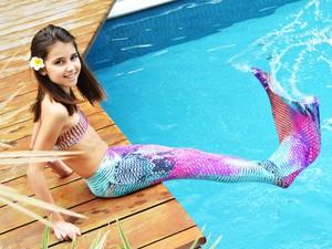Filha de uma das empresárias, donas da Sirenita, que inspirou a criação da empresa. (Foto: Divulgação/Sirenita)