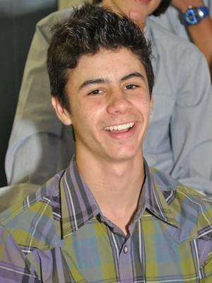Bruno Farina, 14 anos, morreu no acidente de Passo Fundo, Norte do RS (Foto: Gilson Sottili/Divulgação)