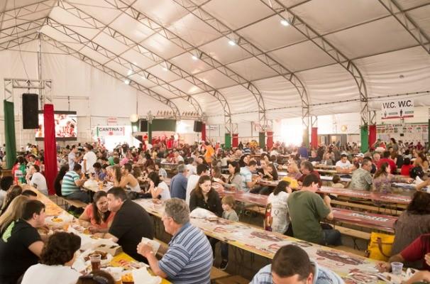 29ª Festa Italiana di Jundiaí é realizada com o apoio da TV TEM (Foto: Reprodução/TV TEM)