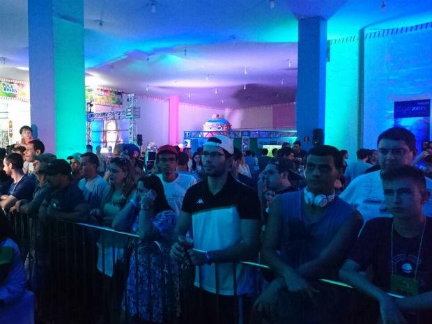 Segundo dia de disputas do TEM Games começa agitado em Bauru (Foto: Ednan Gomes/G1)