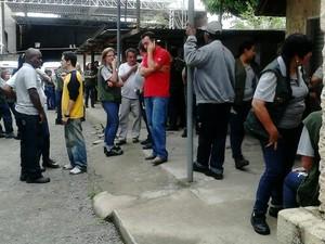 Agente de endemias de Juiz de Fora fazem paralisação (Foto: Maurício Oliveira/TV Integração)