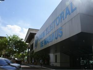 Sede do TRE/AM, em Manaus (Foto: Divulgação/TRE)