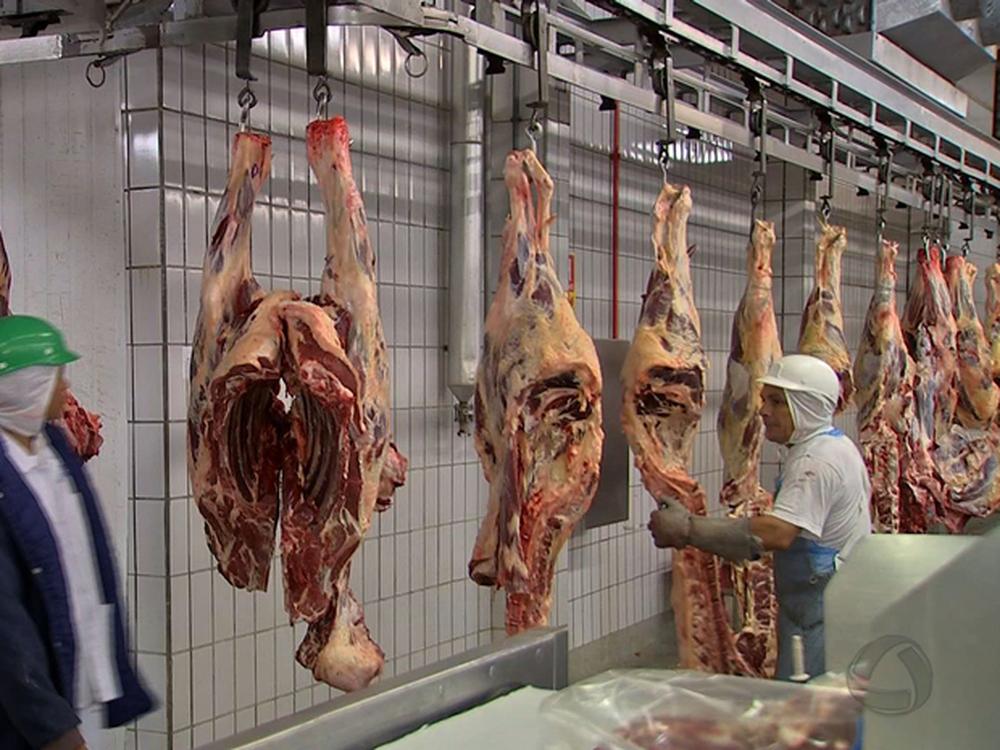 EUA anunciaram suspensão da importação de carne bovina fresca brasileira na última quinta-feria (22) (Foto: TVCA/Reprodução)
